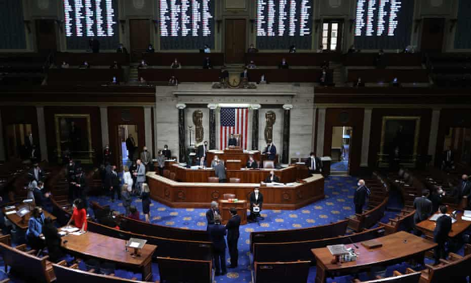 The House of Representatives votes to impeach Donald Trump for the second time in little over a year.