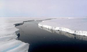 Crack in Larsen C ice shelf