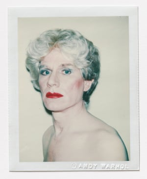 Andy Warhol Self-Portrait in Drag, 1981 Polacolor 2