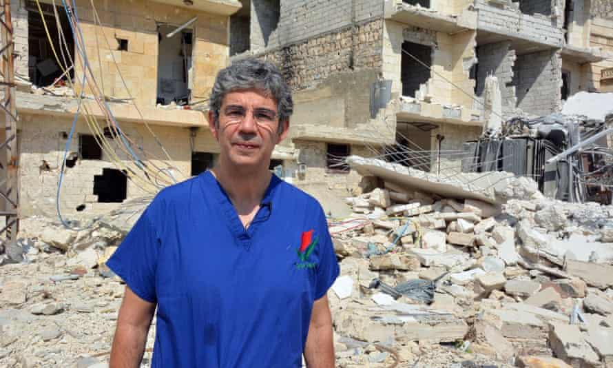 David Nott won a Pride of Britain award in 2016 for his work as a volunteer for aid agencies.