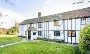 Home and away in Ellington, near Huntingdon, Cambridgeshire