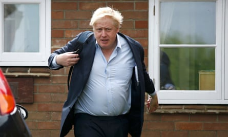Vote Leave campaign leader Boris Johnson. what he said wasn't particularly evidence-based.