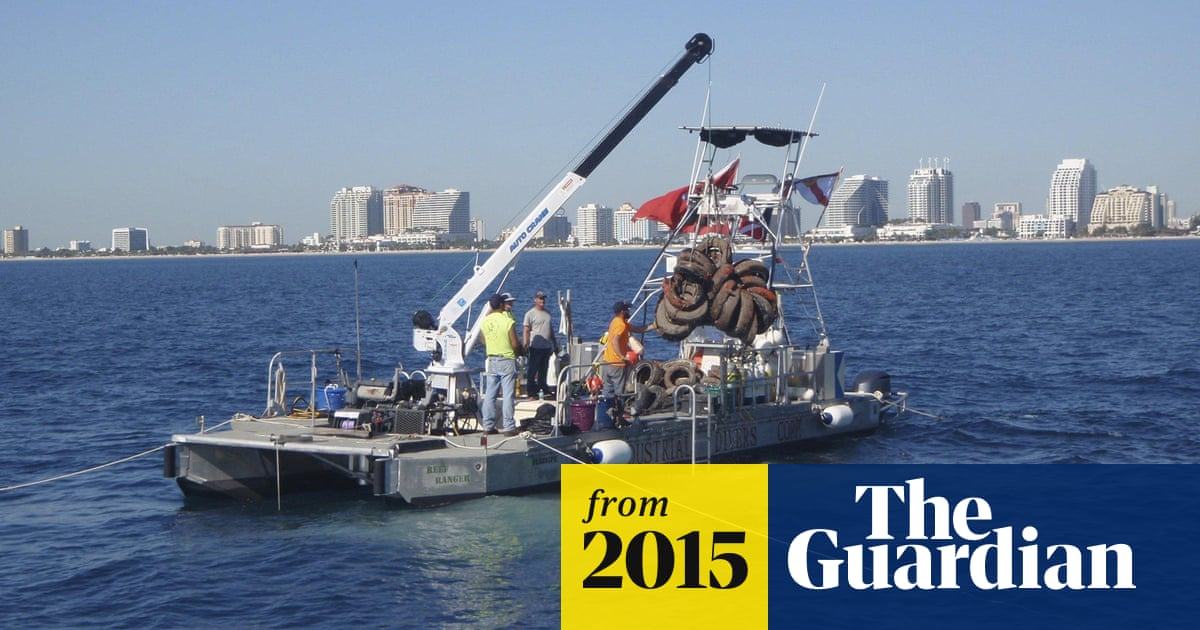 ee80d01a94 Florida retrieving 700,000 tires after failed bid to create artificial reef