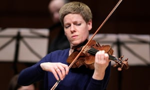 Excelling ... Isabelle Faust.