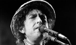 'He's always hooking into poetic traditions' … Dylan in Munich in 1984.