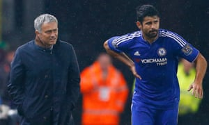 Chelsea manager José Mourinho's relationship with striker Diego Costa has shown signs of fracture in recent weeks.
