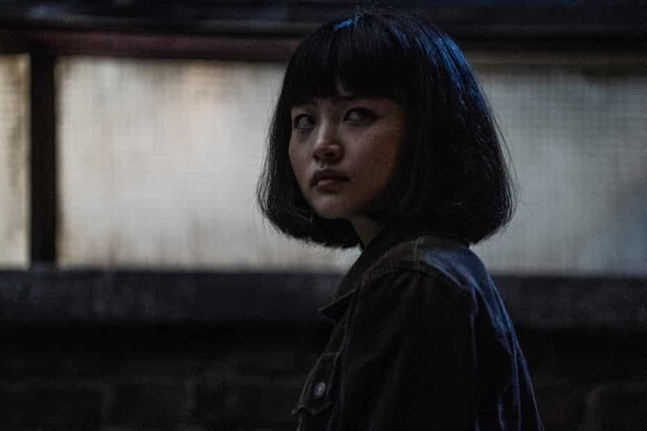 One of the dramas of the year ... Taki (Aoi Okuyama) in Giri/Haji.