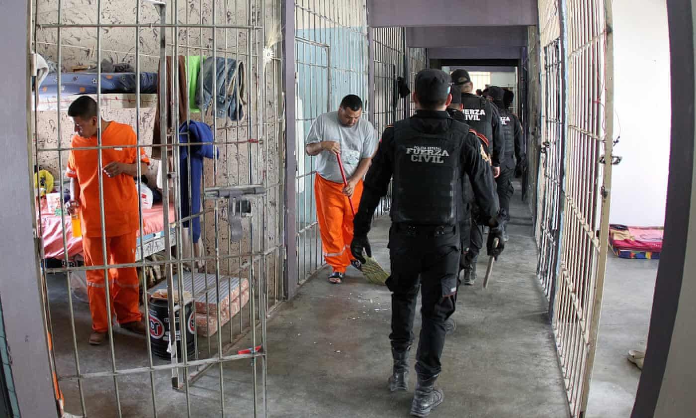 Saunas, bars and cable TV: luxury world discovered inside Mexican riot prison