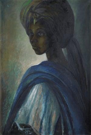 Ben Enwonwu's Tutu (1974).
