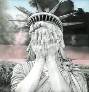 Gee Vaucher's Oh America