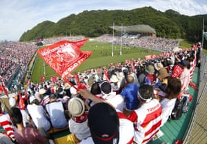Kamaishi Recovery Memorial Stadium is the only specially constructed venue for Japan 2019, will host two group games and features temporary stands.