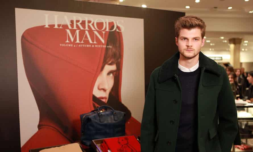 Vlogger Jim Chapman attends the Burberry & Harrods Style Event