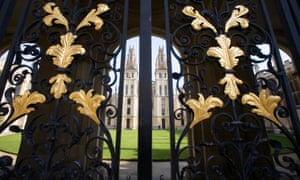 Gates of All Souls College, Oxford University