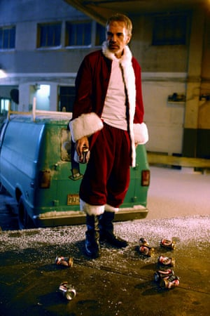 A great Santa! Billy Bob Thornton in Bad Santa.