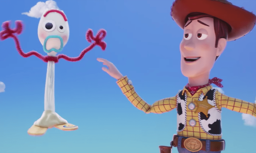 'A creative decision from way left field' … Toy Story 4.