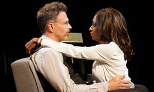 Tim Daly and Rachael Holmes in The Ruins of Civilization: Daly plays a 'champion mansplainer'