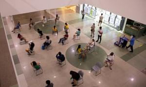 A shopping mall in Manila