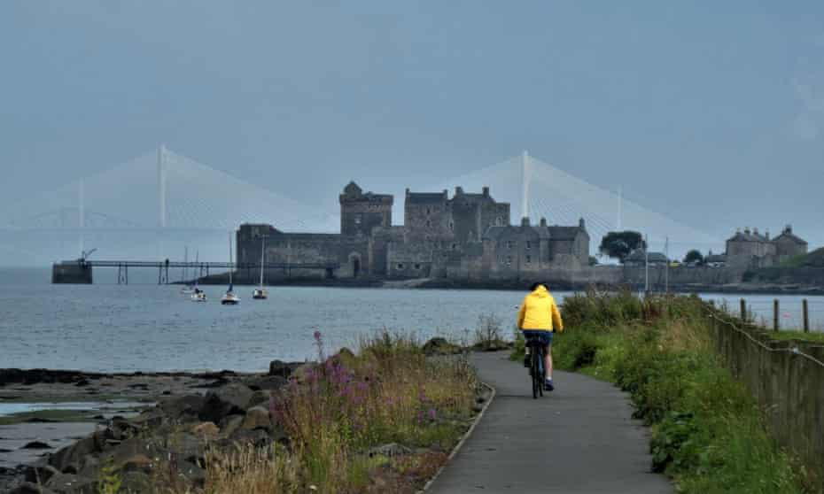 Take it to the bridge … on the Bo'ness to Blackness Castle cycle route.