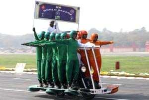 New Delhi, India A Daredevil team