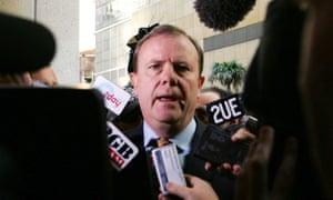 Former Australian treasurer Peter Costello in Sydney 2006.