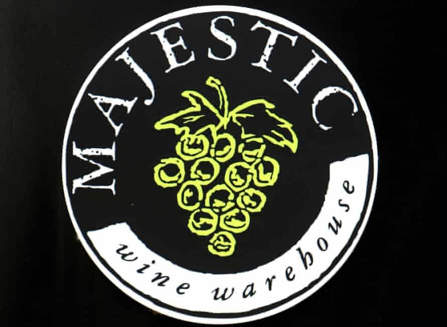 Majestic Wine logo.