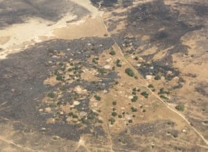 An abandoned village between Mafa and Dikwa towns in Borno state.