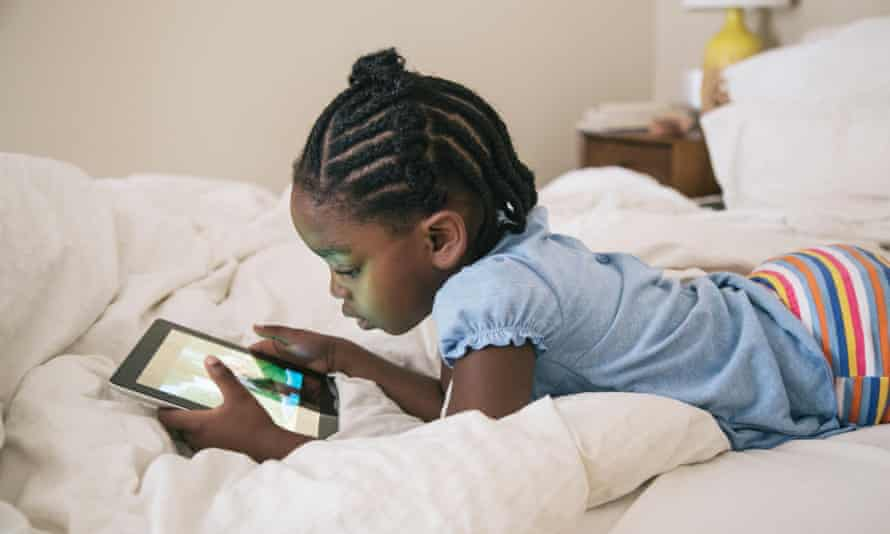 A growing number of children now expect all screens to be interactive