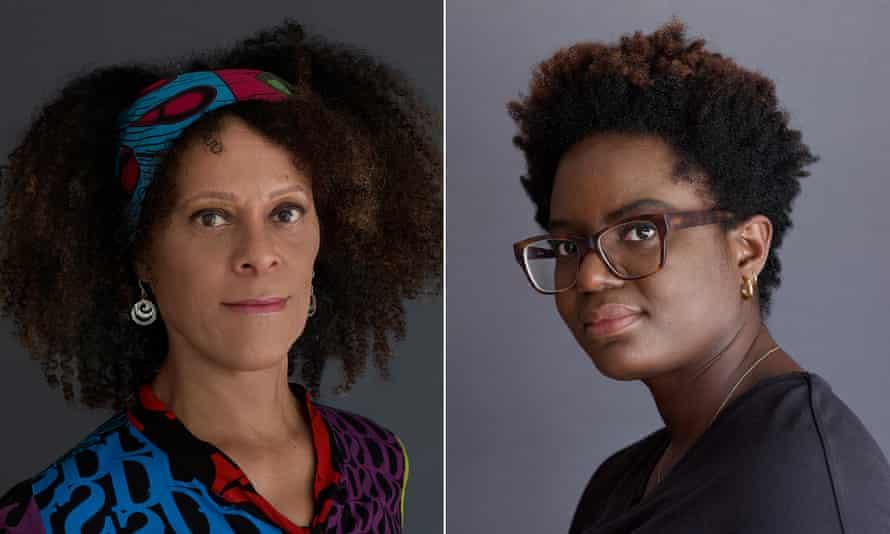 Bernadine Evaristo (left) and Reni Eddo-Lodge … took the literary world by storm.