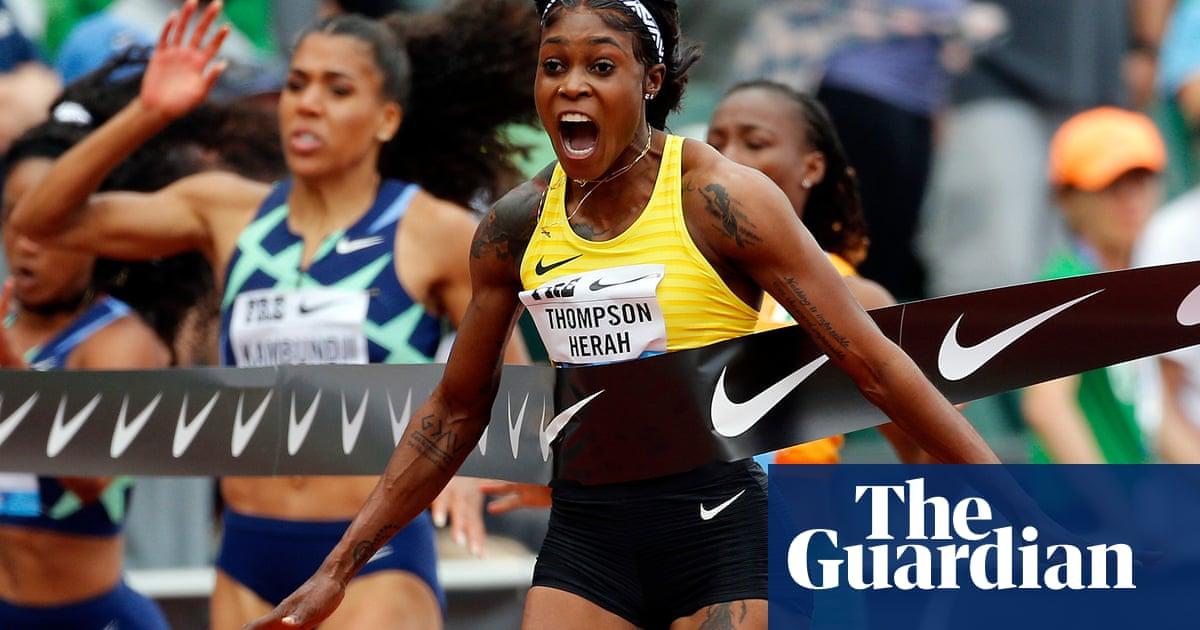 De Grasse backs Thompson-Herah to break 100m world record in Zurich final