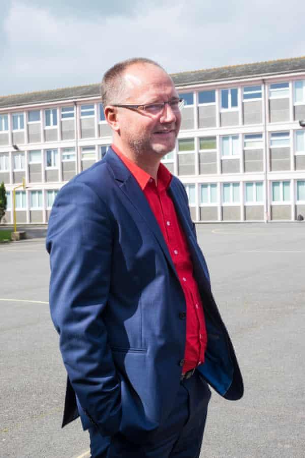 Yves Koziel, the headteacher