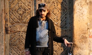 Karim, one of Pragulic's homeless guides
