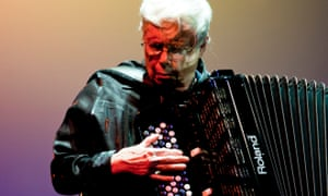 Centrifugal point … the accordionist and improviser Pauline Oliveros.