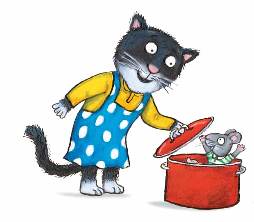 Cat's Cookbook, the latest in the Acorn Wood series, pays tribute to libraries.