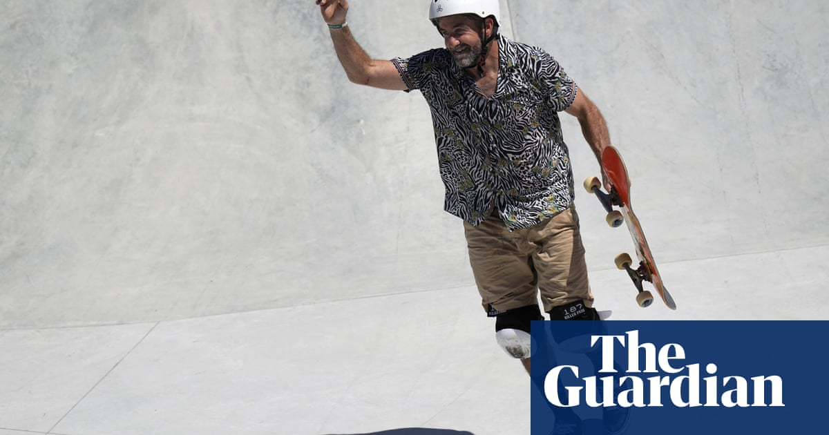Dallas Oberholzer: the 46-year-old Olympic skateboarder who fended off a jaguar