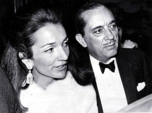 Princess Lee Radziwill With Her Husband Prince Stanislaus Radziwill.