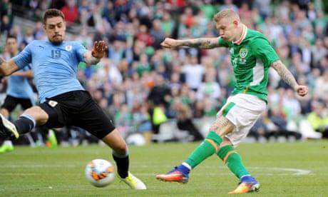 James McClean caps Republic of Ireland victory against Uruguay