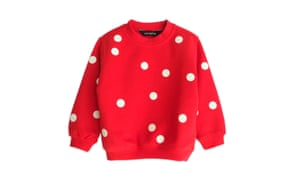 Starstyling red glow points sweater, £48.99