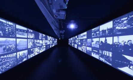 The Invention Of Cinema exhibition at the Cineteca di Bologna.