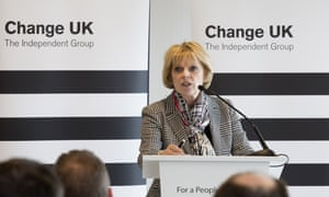 Anna Soubry MP speaking at Change UK, the Independent Group's Edinburgh European election rally on 18 May 2019.