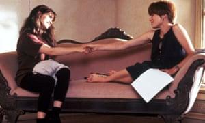 In Single White Female with Bridget Fonda