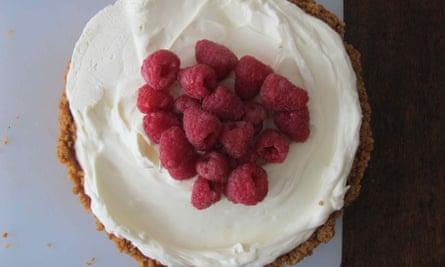 Stella Parks' cheesecake.