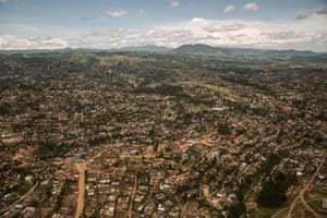 An ariel view of the city of Butembo in Eastern Democratic Republic of Congo, currently the epicentre of the Ebola outbreak. The effort to stamp out this Ebola outbreak in eastern Congo — already the second largest in recorded history — is going poorly, as front-line health workers struggle against rising hostility and distrust