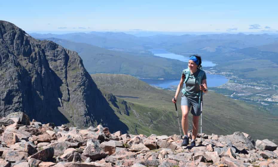 """""""I've never felt happier."""" Nic Hardy ascends Càrn Mòr Dearg in Scotland."""