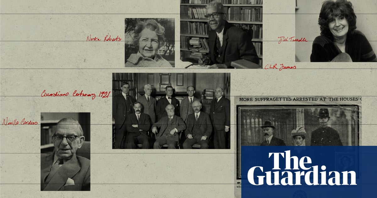 Marxists, feminists – and Olympians: the most dazzling Guardian writers over 200 years