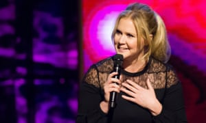 Candid comic … Amy Schumer in 2015.