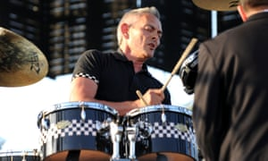 John Bradbury performing with the Specials at the Coachella festival in Indio, California, in 2010.