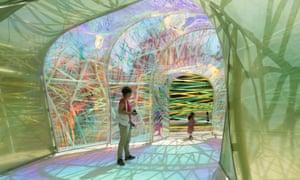 Serpentine Pavilion in London.