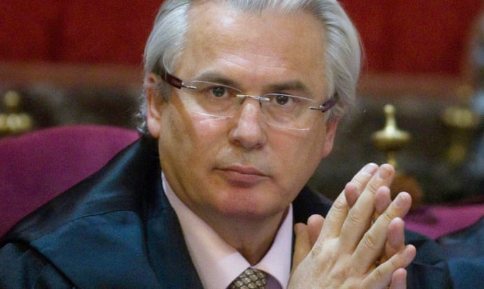 2015-08-20  Spain's campaigning judge, Baltasar Garzon, seeks change in law to prosecute global corporations.  The Guardian