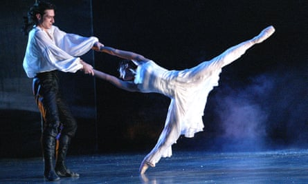 Jonathan Ollivier and Charlotte Talbot in Northern Ballet Theatre's Wuthering Heights at Sadler's Wells, London, in 2012.