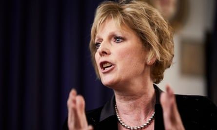 Anna Soubry MP addresses students at the Durham Union.